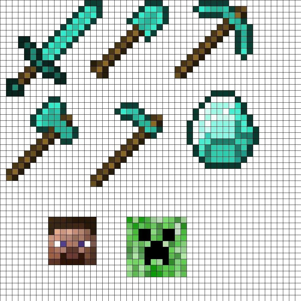 Dessin Minecraft Pixel Art 31 Idees Et Designs Pour Vous Inspirer En Images