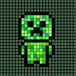 Pixel Art Minecraft Facile 31 Idees Et Designs Pour Vous Inspirer En Images