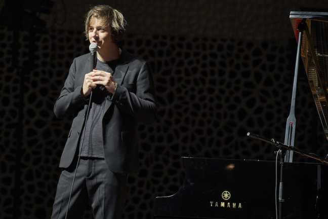 "Elbjazz Pressefoto - ""Michael Wollny Trio in der Elbphilharmonie"" von Claudia Hoehne"
