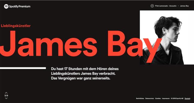 James Bay - mein Top-Künstler 2018