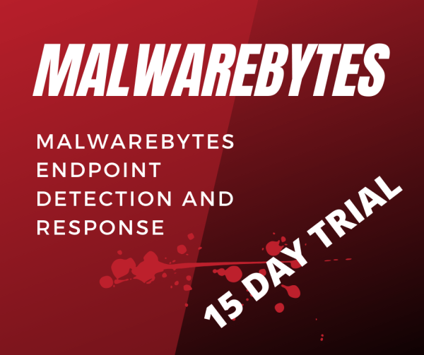 Malwarebytes Endpoint Detection & Response (EPDR)15 Day Trial