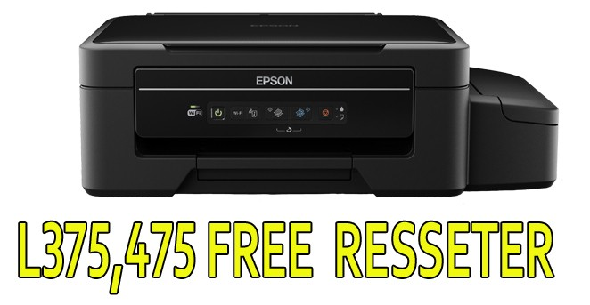Epson printer L375,475 Free Download Resseter