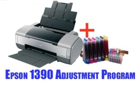 Epson 1390 Adjustment Program