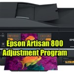 Epson Artisan 800 Adjustment Program
