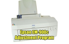 Epson EM-900C Adjustment Program