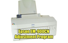 Epson EM-900CN Adjustment Program