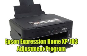 Epson Expression Home XP-103 Adjustment Program
