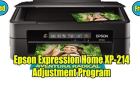 Epson Expression XP-214 Resetter