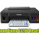 Canon Pixma G1200 Resetter With Tutorial