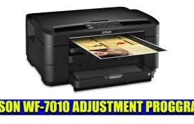 EPSON WF-7010 ADJUSTMENT PROGGRAM