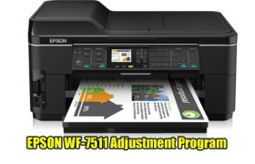 EPSON WF-7511 Adjustment Program
