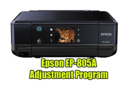 Epson EP-805A Resetter