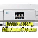 Epson EP-806AW Resetter