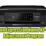 Epson Expression Home XP-434 Adjustment Program