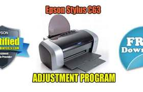 Epson Stylus C63 Adjustment Program