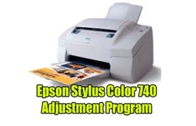 Epson Stylus Color 740 Adjustment Program