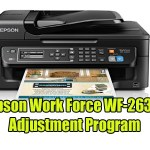 Epson Work Force WF-2630 Adjustment Program