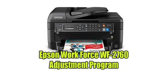 Reset Epson Wf2760 Adjustment Program