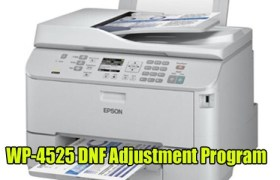 Epson WorkForce Pro WP-4525 DNF Adjustment Program