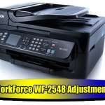 Epson WorkForce WF-2548 Adjustment Program