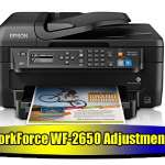 Epson WorkForce WF-2650 Adjustment Program