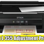 Epson L355 Adjustment Program ( Resetter )