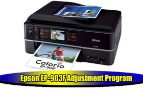 Epson EP-903F Adjustment Program
