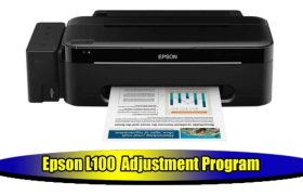 Epson L100 Adjustment Program