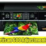 Epson Artisan 600 Adjustment Program