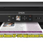 Epson Expression Home XP-340 Adjustment Program