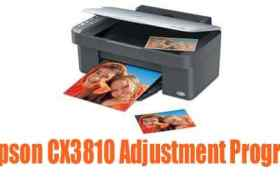 Epson CX3810 Adjustment Program