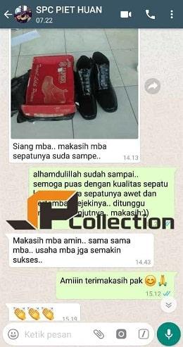 Menerima Pengadaan Sepatu Kulit Militer PDL PDH
