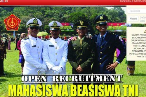 Beasiswa TNI Bagi Mahasiswa