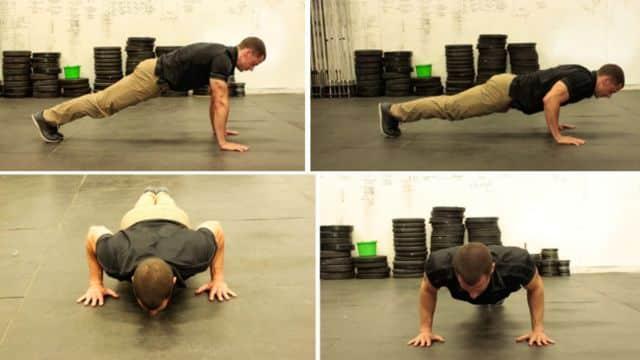 Latihan Fisik Ala Militer di Rumah
