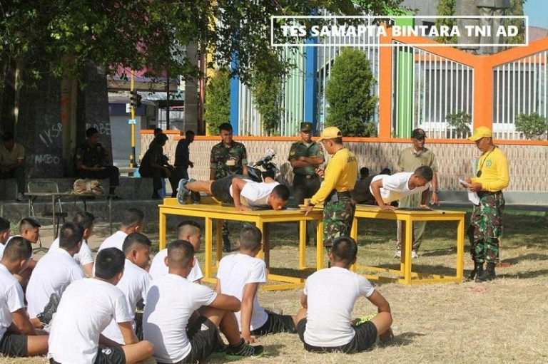Tips Test Samapta Bintara TNI AD