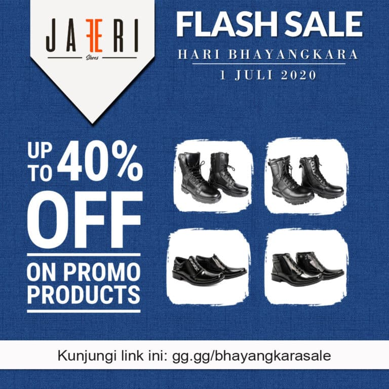 Flash Sale Bhayangkara 1 Juli 2020