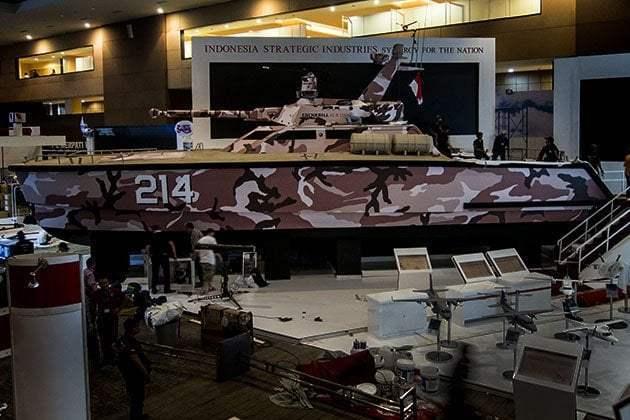 Pindad Tank Boat