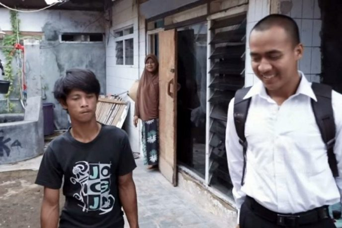 Dari Kuli Jadi TNI