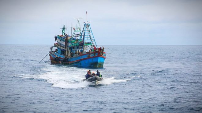 Kapal Penyusup Vietnam