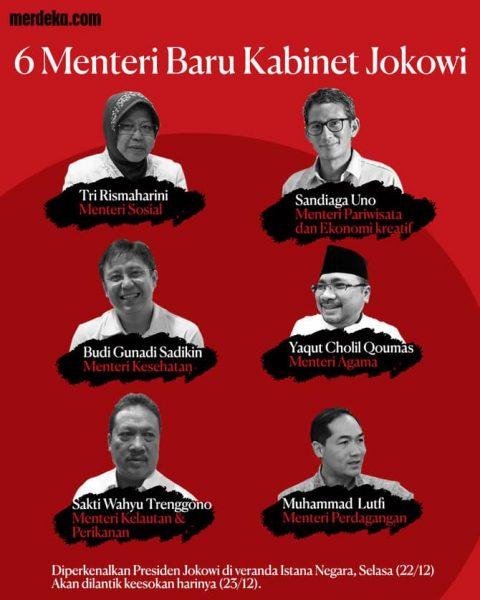 Reshuffle Kabinet Baru Jokowi