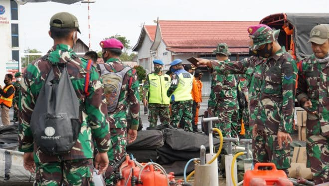 Peran TNI Tanggap Bencana