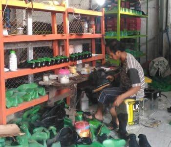 Produksi sepatu kulit sp collection 1