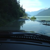 Lillooet Lake on the rise!