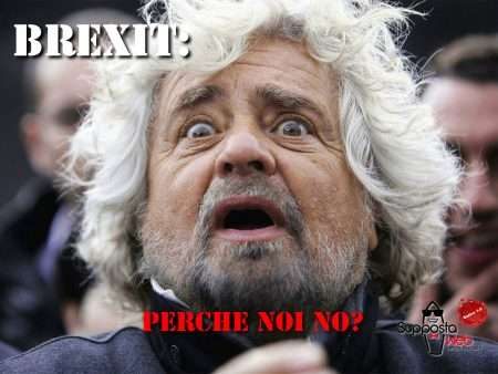 Beppe Grillo brexit
