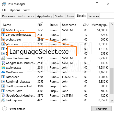 LanguageSelect.exe virus