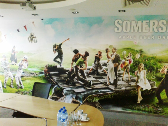 branding of conference rooms for companies