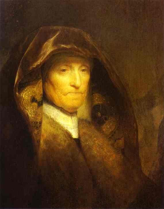 Rembrandt - Portrait of the Artist's Mother.