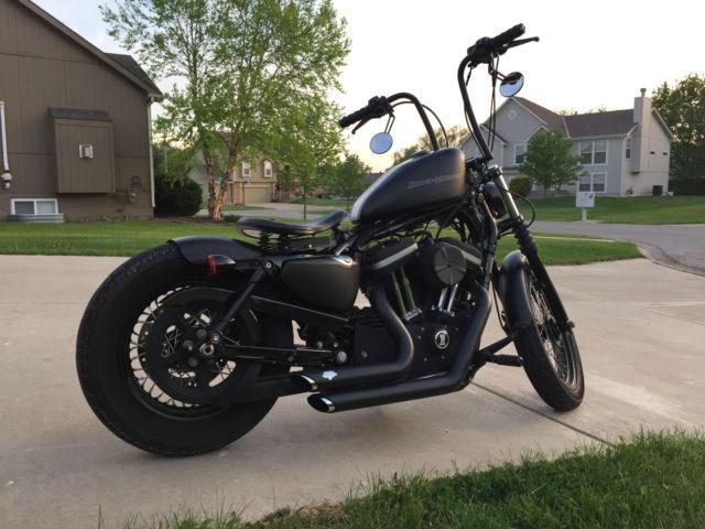 09 Harley Davidson Iron 883 Custom