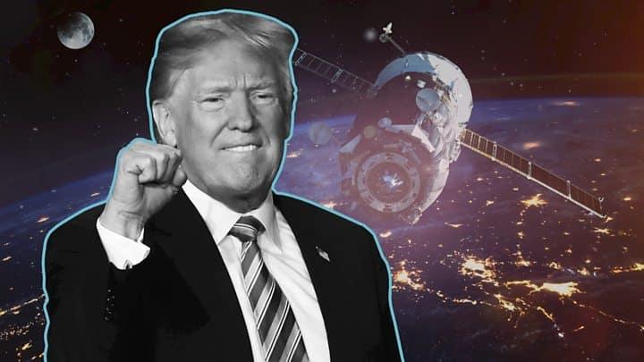 """A força espacial de Trump: Agora o espaço é um """"domínio de combate"""" 1"""