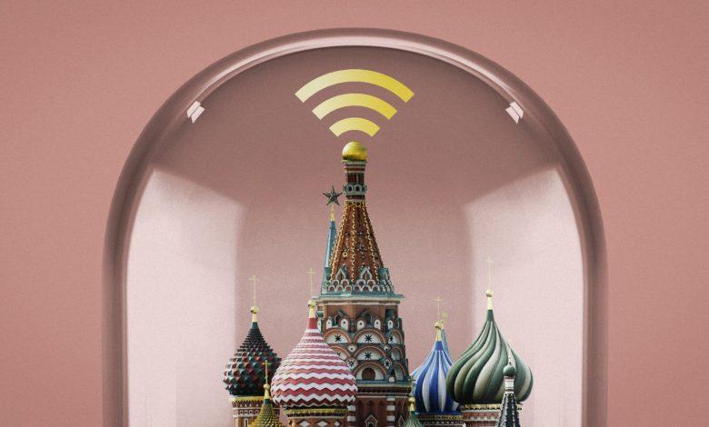 Rússia desconectada da internet global